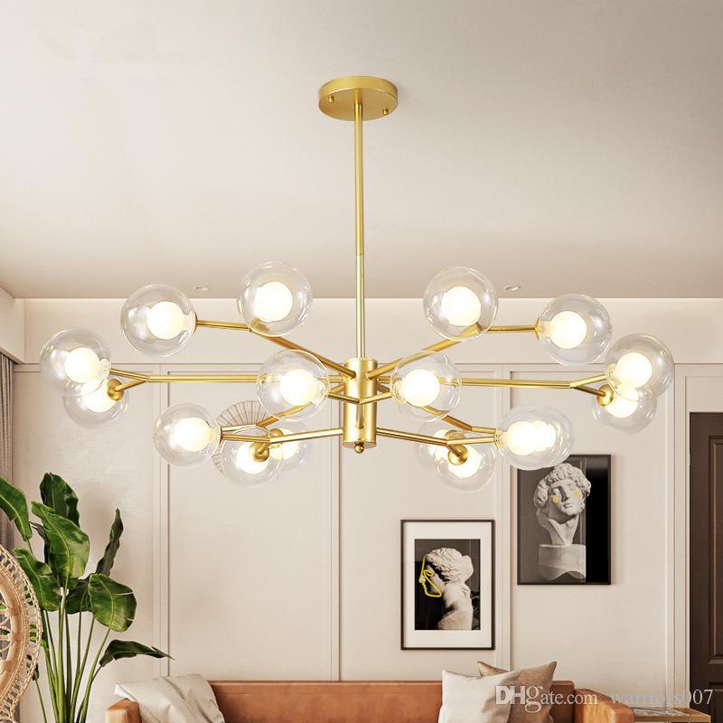 زجاج عاكس الضوء LED أضواء قلادة ريترو لوفت الصناعية مصباح معلق لغرفة المعيشة مطبخ الرئيسية ضوء مصباح ديكور ومينير