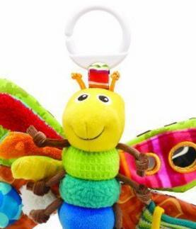 Lamaze Freddie The Firefly Baby Toddlers Rattle Toy Butterfly Multi Functional Toys Bed Bell Teethers Kids Product Learning Gift