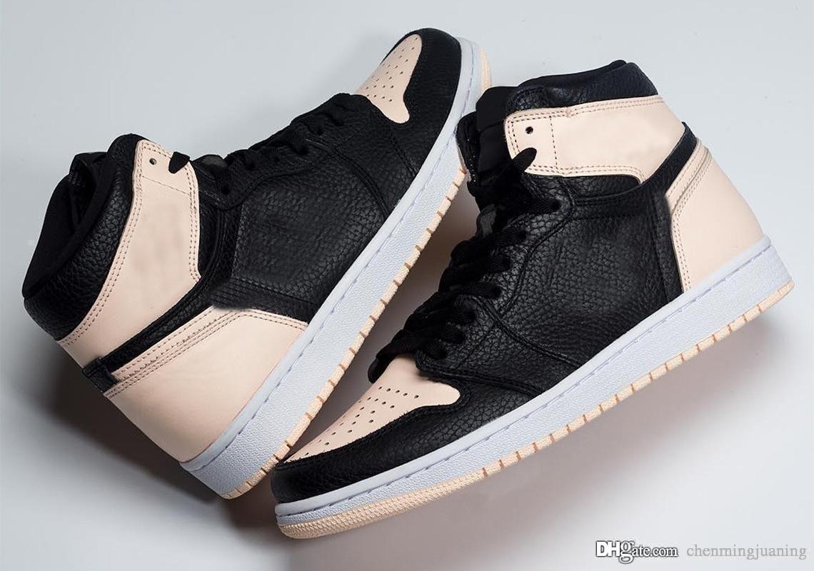 Yeni Yayın 1 Yüksek OG Crimson Tonu Kız Basketbol Ayakkabıları 1 S Hiper Pembe Erkekler Kadınlar Kutusu Ile Otantik Retro Spor Sneakers