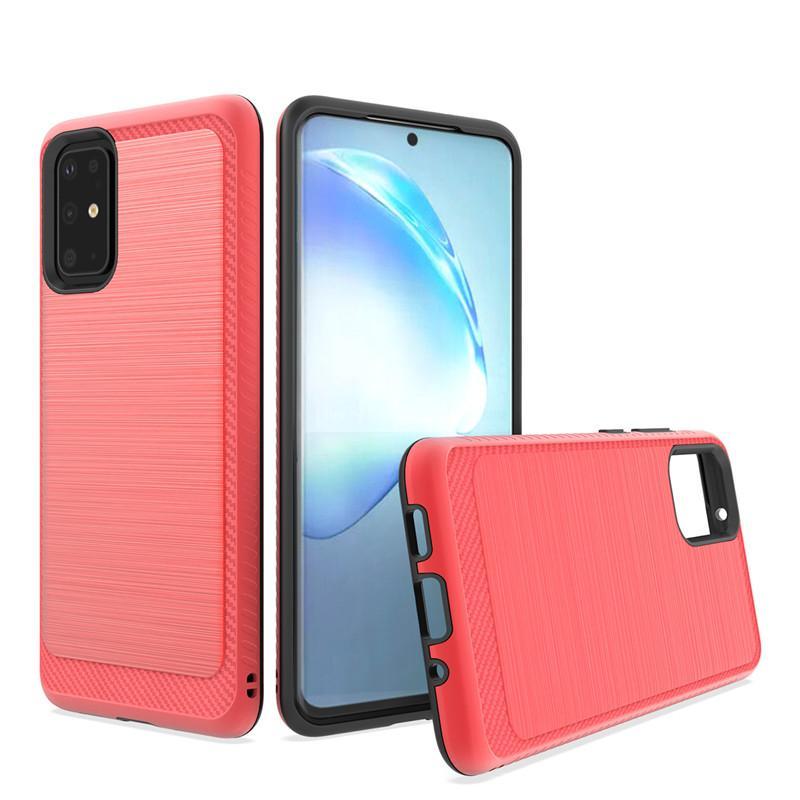 Para Samsung A01 caso híbrido Armadura TPU PC 2 em 1 telefone csaE para Samsung A71 A51 caso