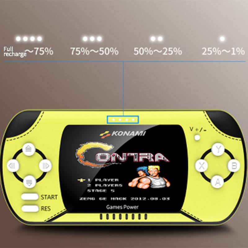 RS-11 8 Bit Charging Bank Power Handheld Game Console 10000 Mah Large Capacity Nostalgic Handheld Built in 300 Classic Games