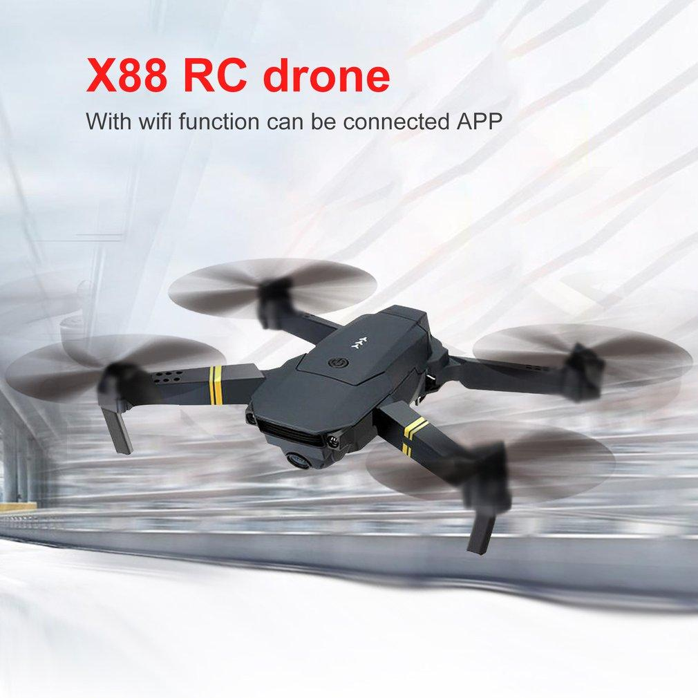 X88 Wifi FPV RC pliable Drone avec caméra HD Altitude attente Headless mode RC Helicopter Aircraft Jouets Avion