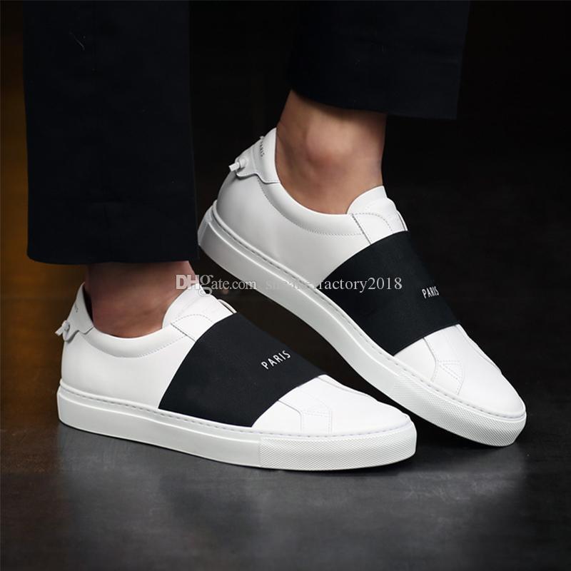 باريس الرجال النساء شخصية المدرب الراحة عرضي ثوب حذاء حذاء رياضة ترفيه الرجال الأحذية الجلدية النسائية المدربين Lowtop