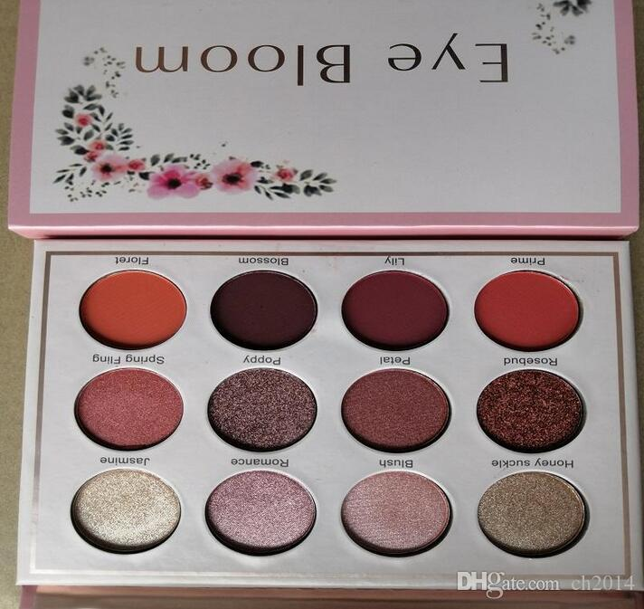 new12 Colors Eye Shadow Cosmetics Eyeshadow Palette Waterproof Makeup Eye Shadow Natural Long-lasting and Good Quality Free Shipping