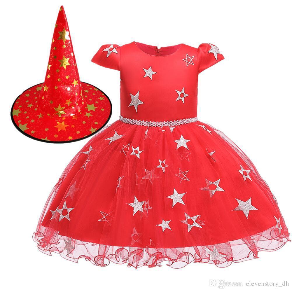 1-10Yrs Princess Girls Fancy Dress Up Party Kid Dance Costume Birthday Halloween