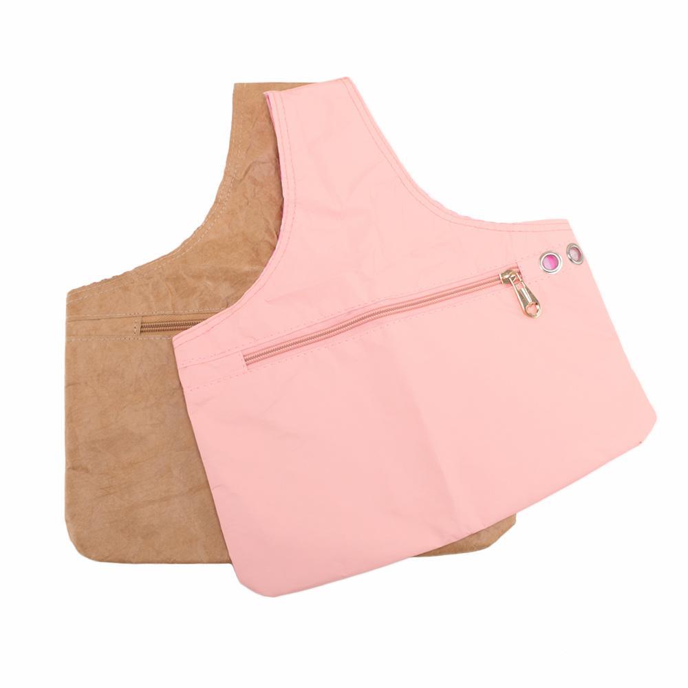 1pcs Weave Storage Bag Household Hand Held Waterproof Fabric Organizer Knitting Wool Bag