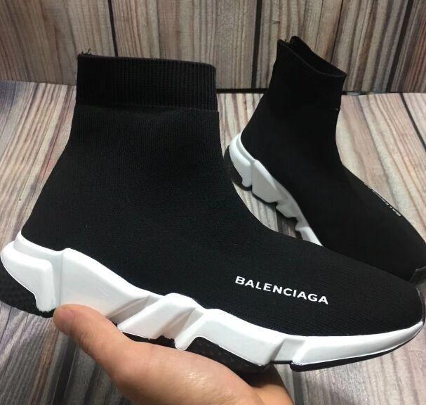 Mode Socken Schuhe Speed Trainer beiläufige Schuh-Turnschuh-Rennen Läufer für Männer Frauen Sportschuhe 36-45