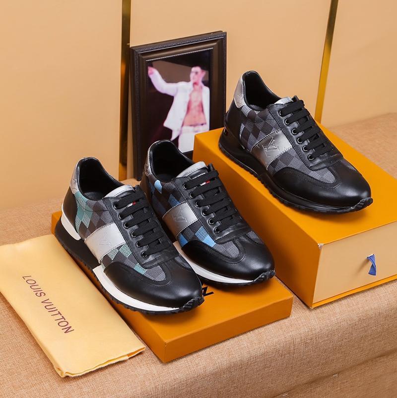 2020b ограниченным тиражом роскошный дизайн мужские низким топ мода кожаный напечатано кроссовки диких мужская повседневная мужская обувь банкетный туфли размер: 38-45