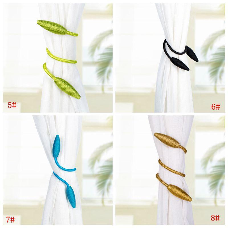 Wholasale Tende Bende Fibbia creativa Home Textile Curtain della fibbia porta corda Finestra Tende Accessori decorativi DBC BH3567