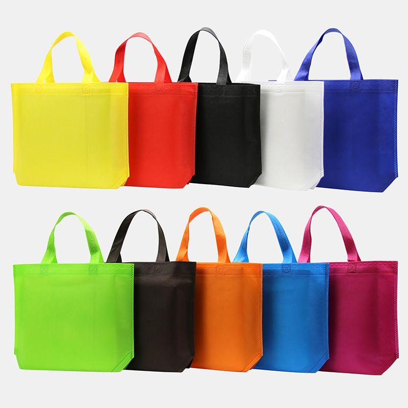 Sacola reforçada reusável do mantimento do punho dos sacos de compras grande