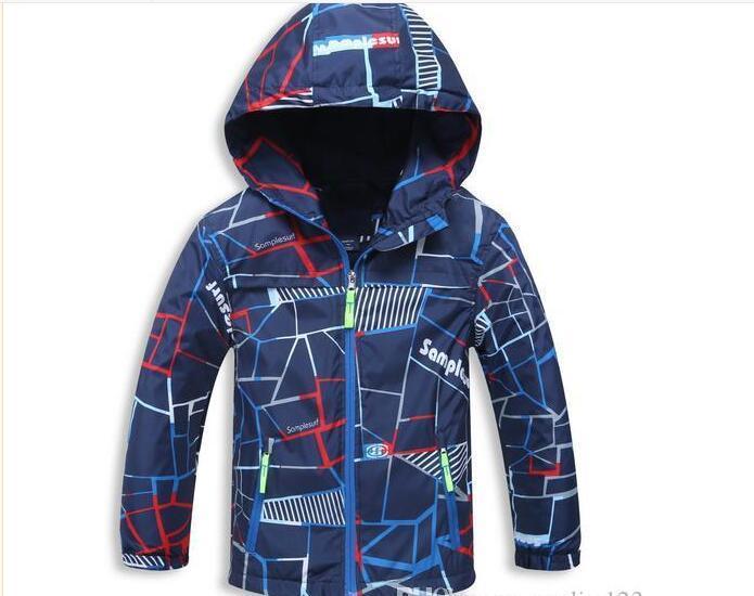 New Spring Autumn Children Outerwear Jackets Sport Fashion Kids Coats Double-deck Waterproof Windproof Boys Jackets