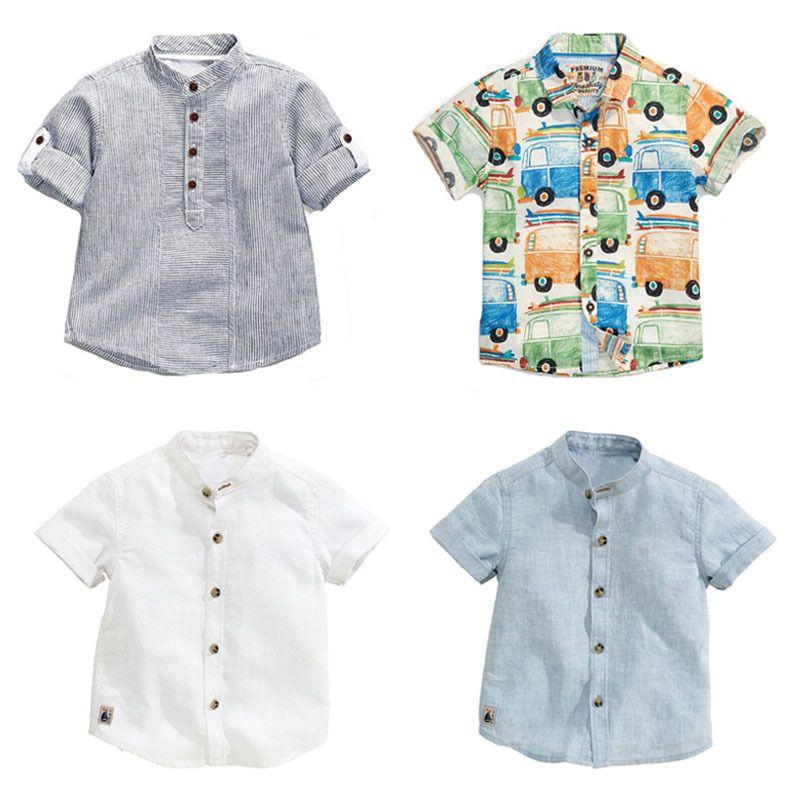 Yeni 2019 Marka Yaz% 100% Pamuk Bebek Giyim Yürüyor Çocuk Çocuk Giyim Tees T-shirt Kısa Kollu T Gömlek Erkek Bluz J190529