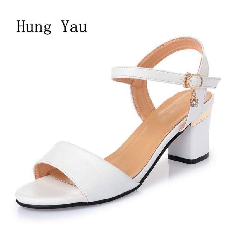 Mrs Sandalen Ayakkabı 2018 Yaz Stil Keile Pumpt Yüksek Topuklu Tokalar Gladyatör Sandalet Ayakkabı Kadın Moda Ayakkabı Y19070603