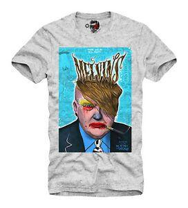 E 1 Sindicato T SHIRT melvins Tour Poster Trump Rei Buzzo Unisex Zombie 4320
