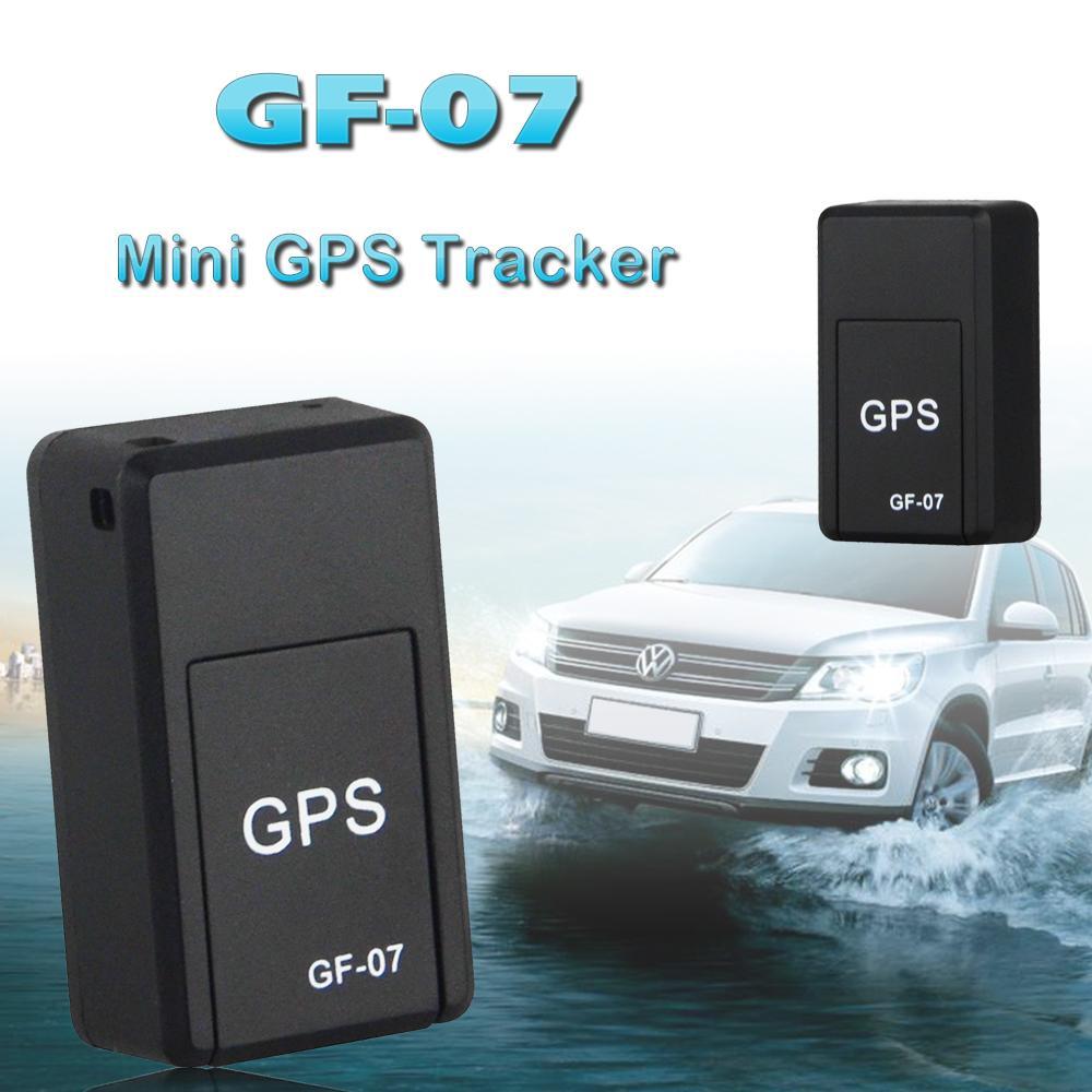 Mini GF-07 Rastreadores GPS Dispositivos de rastreo SOS para vehículos Vehículo Localización de niños Rastreadores Sistemas de localización Mini GPS magnético permanente