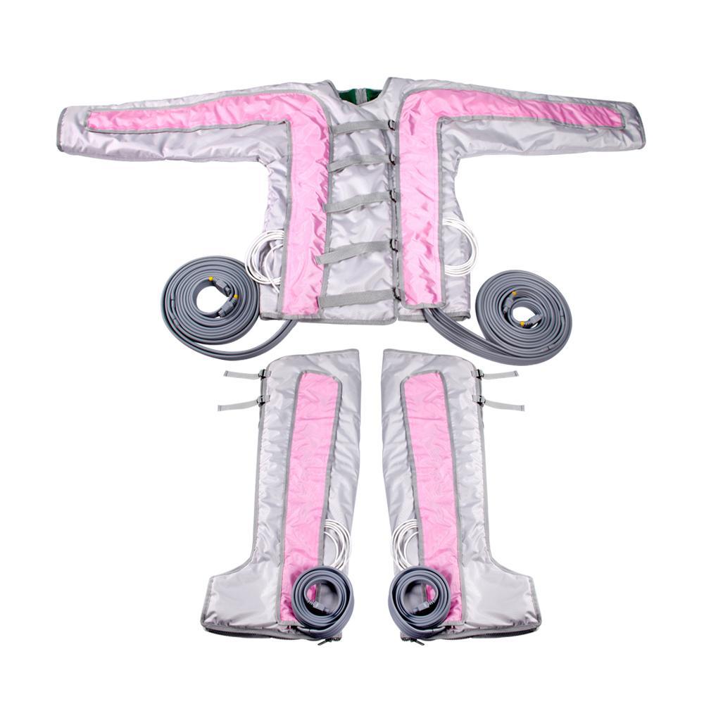 Massaggio di pressione di compressione dell'aria Pressoterapia / sistema di drenaggio linfatico Compressione della compressione macchina dimagrante del corpo del corpo