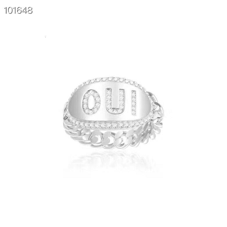 2020 high quality fashion ladies ring party gift ring best glamour jewelry gorgeous elegant simple style YMX8