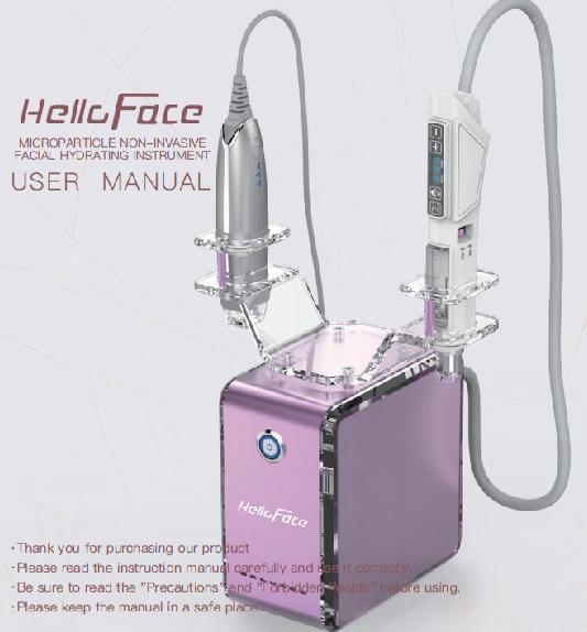 중국 1 2 아름다움 기계에 새로운 2 바늘 무료 Mesotherapy 총을 가진 휴대용 전기 자극 얼굴 리프트 기계