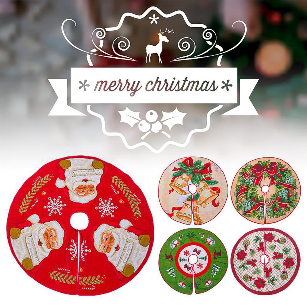 شجرة عيد الميلاد تنورة إضافة الاحتفالية جو عيد الميلاد الديكور المنزلي شجرة عيد الميلاد الديكور القدم الغلاف السجاد