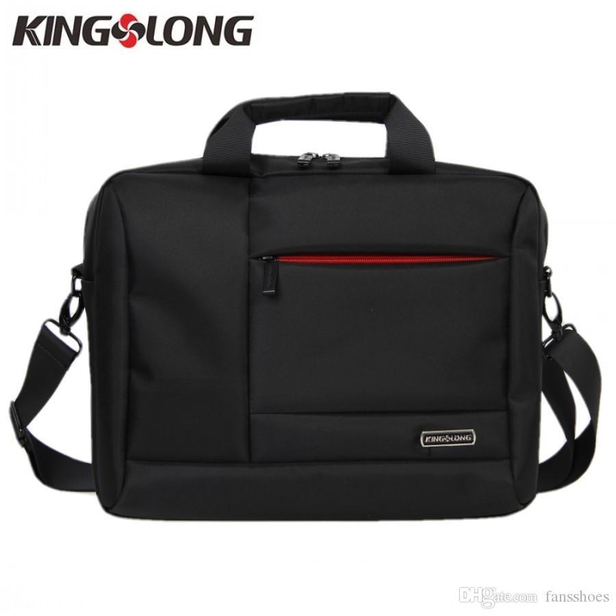 KINGSLONG Business Briefcase Nylon Laptop Notebook Computer Protect Bag for Men Crossbody Shoulder Messenger Bag KLM112838-13-5 #673090