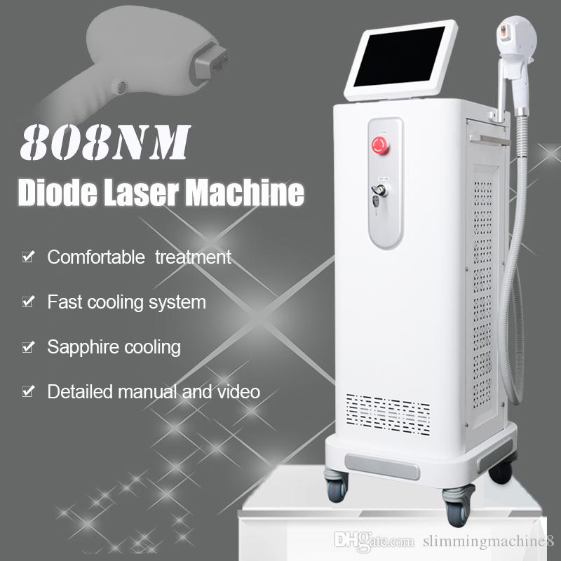 808nm Diode Laser Face Hair Removal For Women And Men Permanent