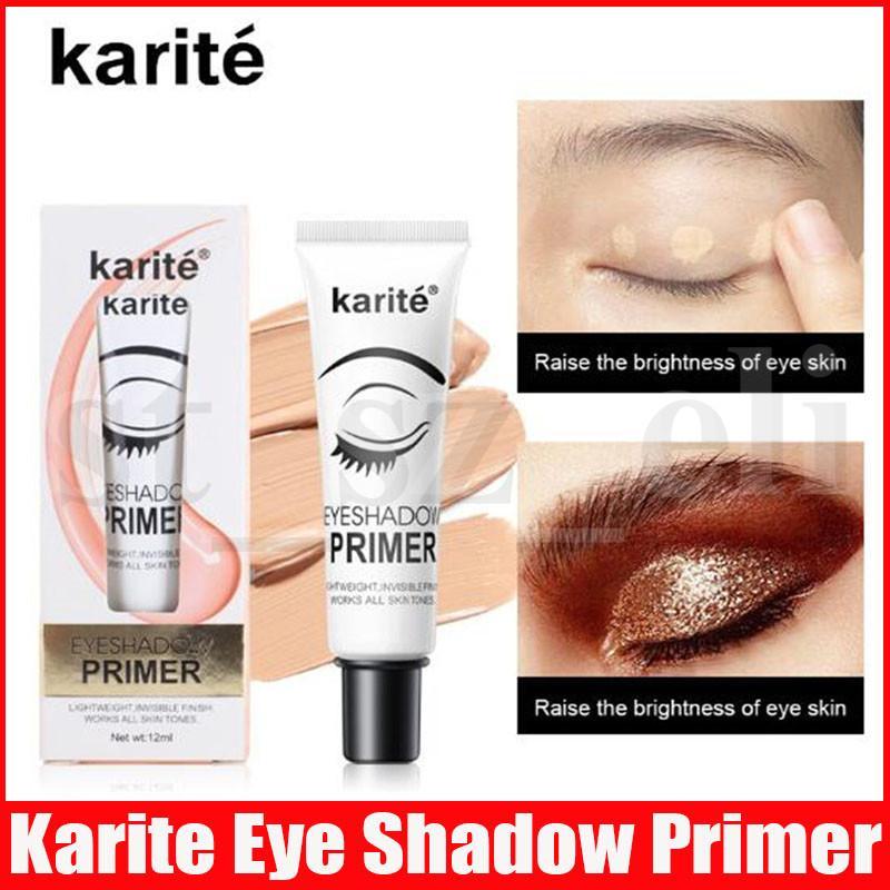 Karité Eyeshadow Primer yeux Maquillage facile de base imperméable à l'usure de longue durée Correcteur Yeux cosmétiques apprêt à base