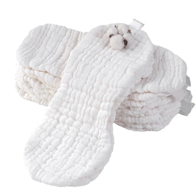 12 couches réutilisables écologique coton bébé couches lavables Gaze Nouveau-né chiffon doux Aménagée Diapers, 12 Article / Set