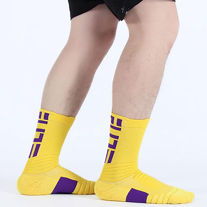 Unisex Women Men Outdoor Breathable Stocking Cycling Socks Long Tube Sports