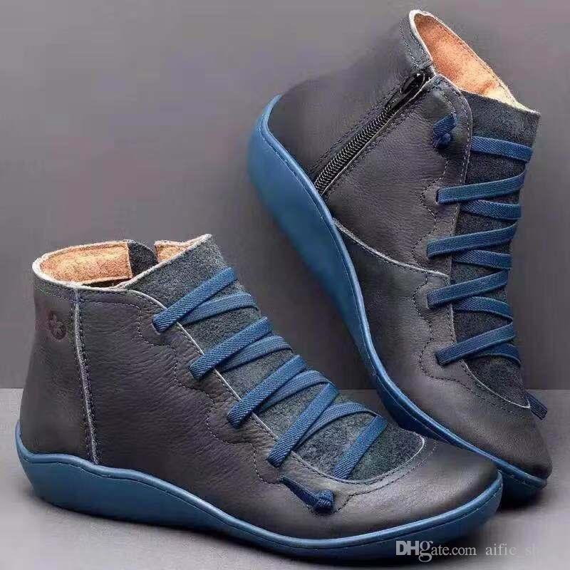 Cheap Designer Shoes in Australia Donne Classic Martin stivaletti corti Winter Snow Boots Moda Donna EU43 buona qualità DropShipping