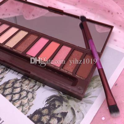 IN stock Hot newest cherry 12 colors eyeshadow Super beauty New cherry makeup palette Rose Eye Shadow palette DHL free shipping