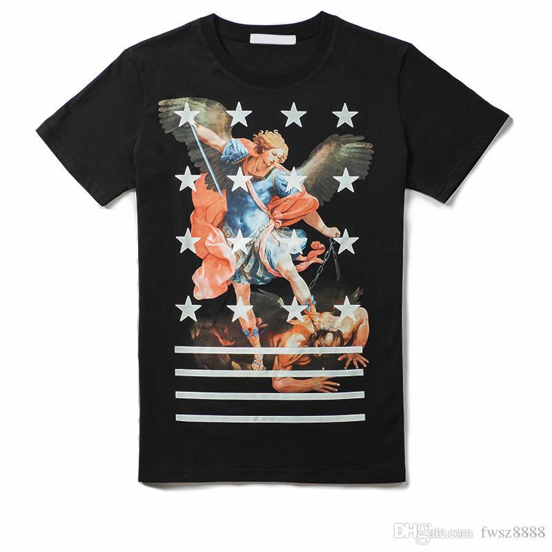 Modello magliette di estate Donne 2020SS nuovo Mens camicia Designer di lusso della moda di Parigi maglietta maschio superiore 100% cotone Top Tee 256021