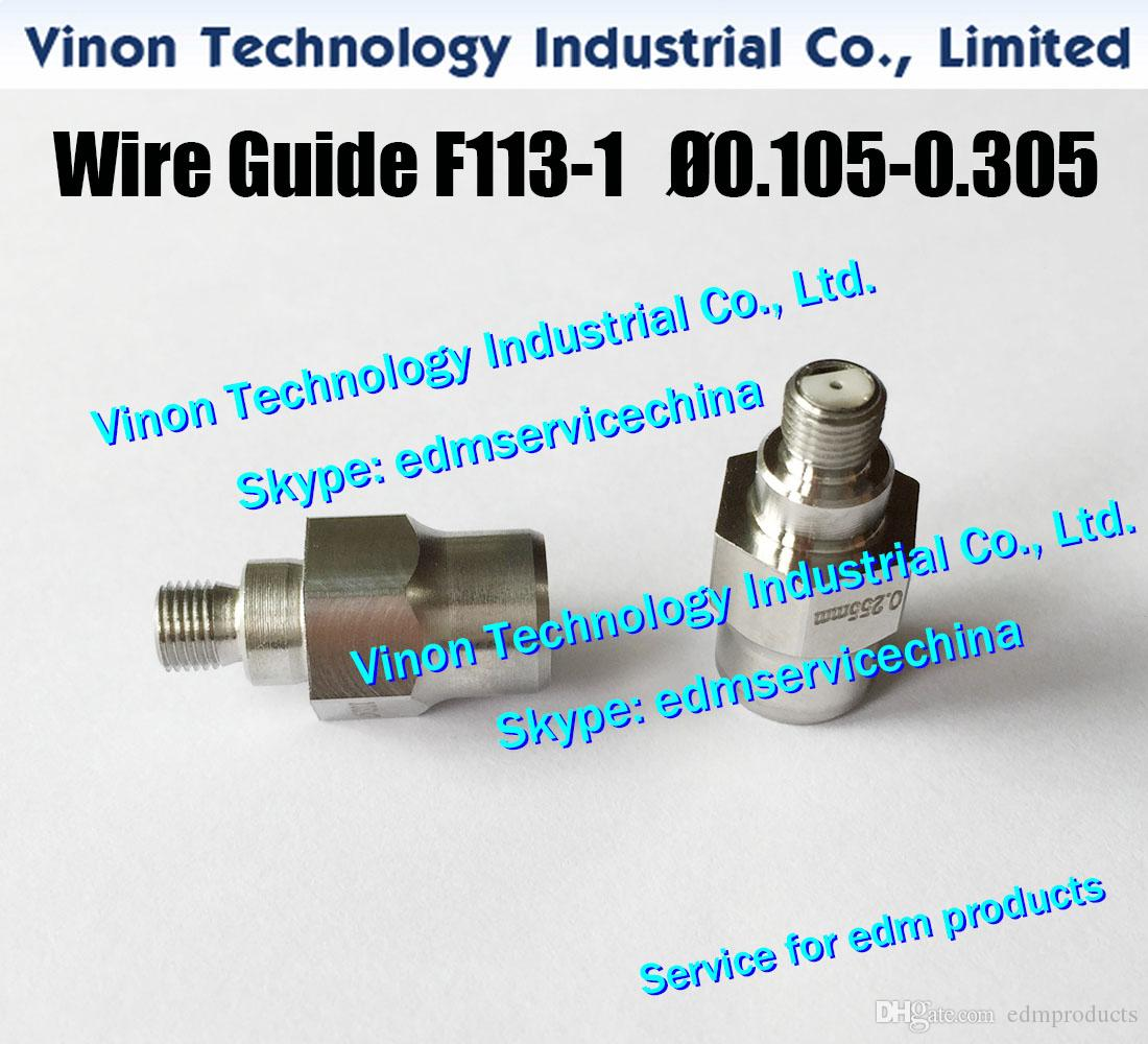 F113-1 Ø0.105 Wire Guide Lower (Double Ceramic) A290-8119-Y713 for Fanuc Level Up(iD2),iE,0iC edm lower diamond guide d=0.105 A2908119Y713