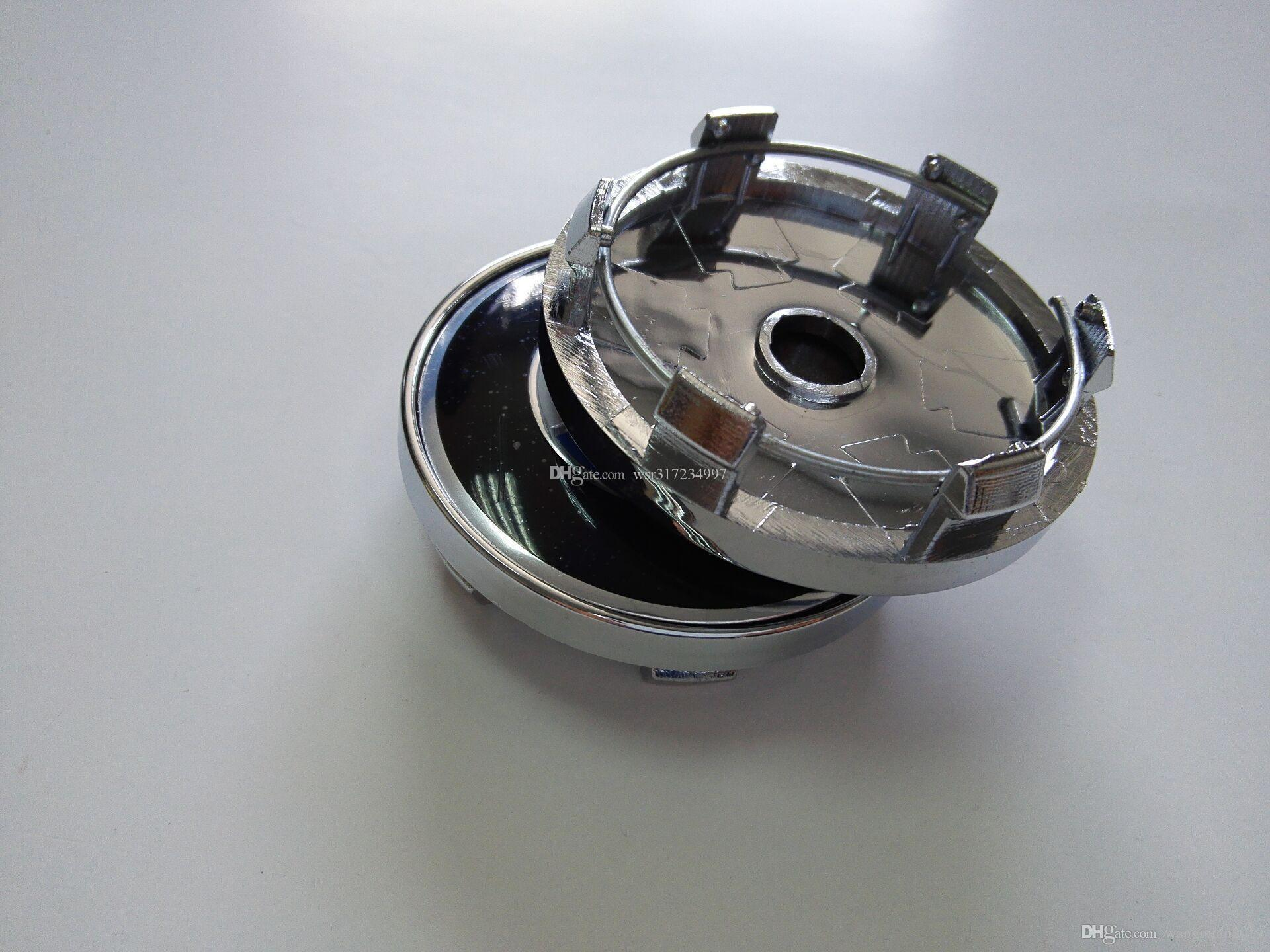 Car Styling 20Pcs * 60MM del centro di rotella delle protezioni di mozzo auto emblema distintivo marchio per BMW / VW / OPEL / MAZDA / Lexus / Volvo / Toyota / H / KIA / OZ Racing Etc.