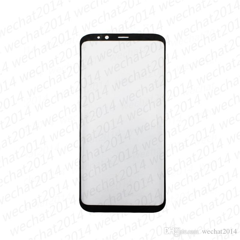 100PCS OEM Front Outer Touch Screen Glass Lens Replacement for Samsung Galaxy S8 G950 S8 Plus G955 S9 Plus Note 8 9 free DHL