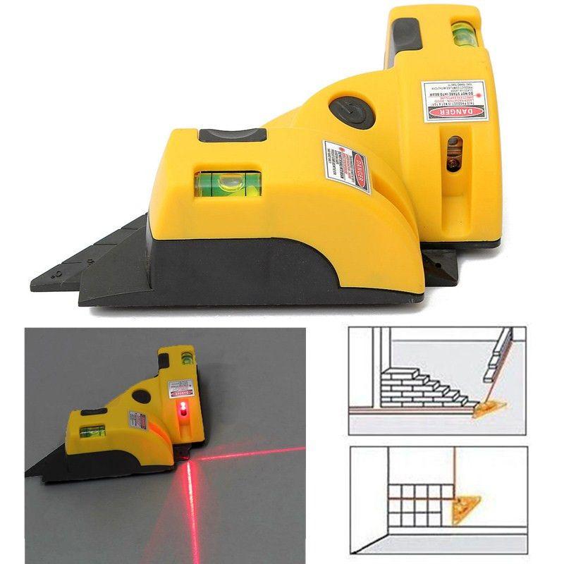 뜨거운 판매 직각 90도 정사각형 레이저 수준 높은 품질 수준 도구 레이저 측정 공구 레벨 레이저 건설 도구
