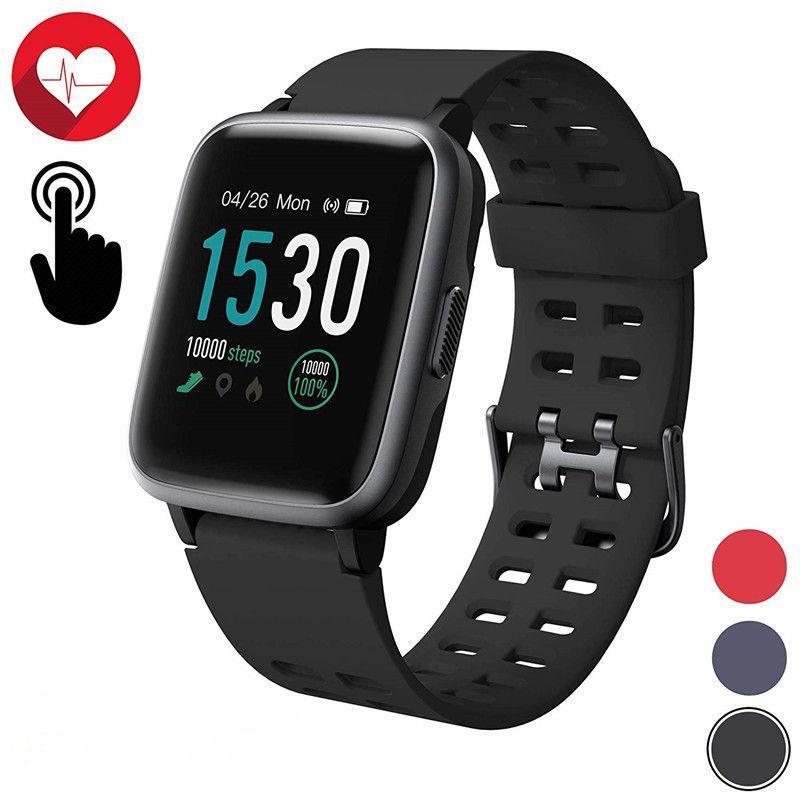 Smart Uhr IP68 wasserdicht Fitness Tracker Heart Rate Monitor Step Counter Sport Smart Armband für Outdoor-Smartwatch reloj inteligente