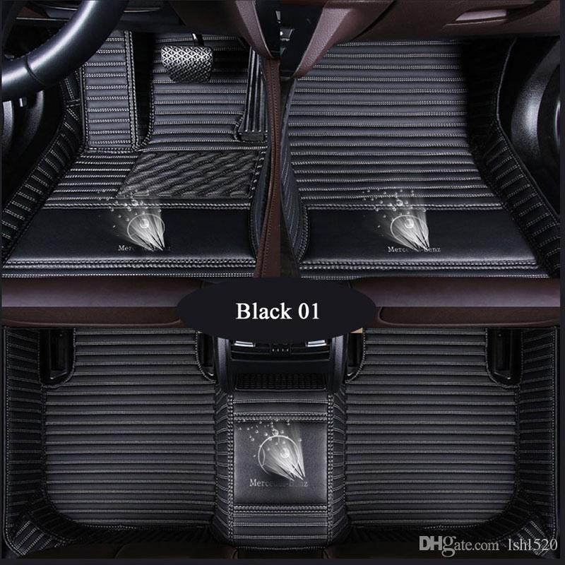 Renault LOGO için özel fit araba paspaslar Scenic Fluence Koleos Laguna Megane cc Tılsım 3D araba styling halı kat liner
