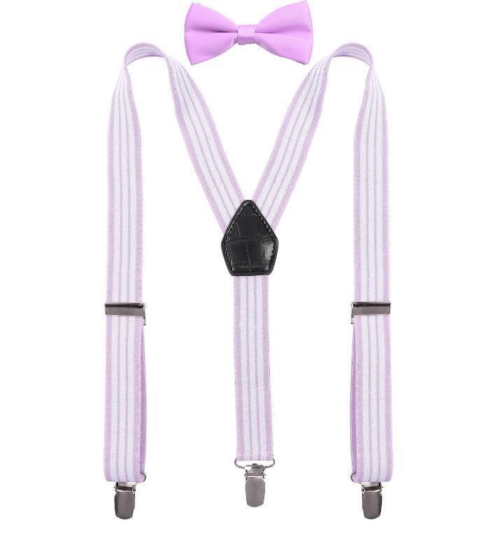 Подтяжки и галстук-бабочка DEOBOX Boy's Set Elastic