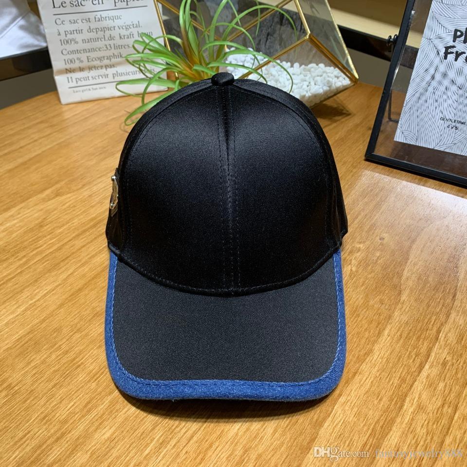 A melhor venda cor sólida simples boné de beisebol designer de design de proteção solar verão chapéu de sol Hats Caps homens