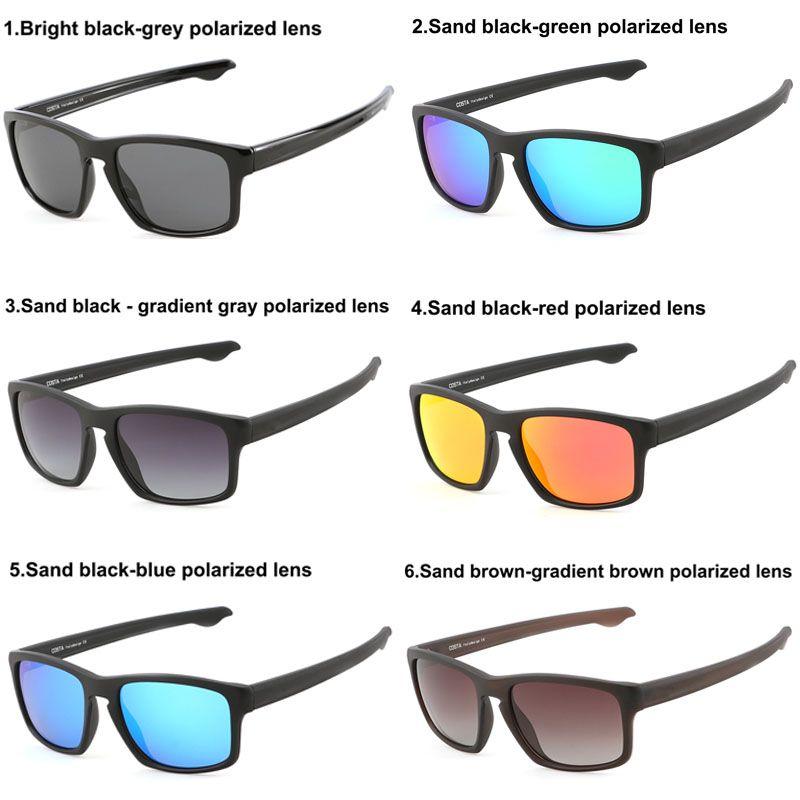 Heiße Verkäufe COST polarisierte Sonnenbrille TR90 Objektiv-Gläser für Männer Frauen Marken-Designer-Sonnenbrillen Outdoor Sport Brillen Driving Sonnenbrillen