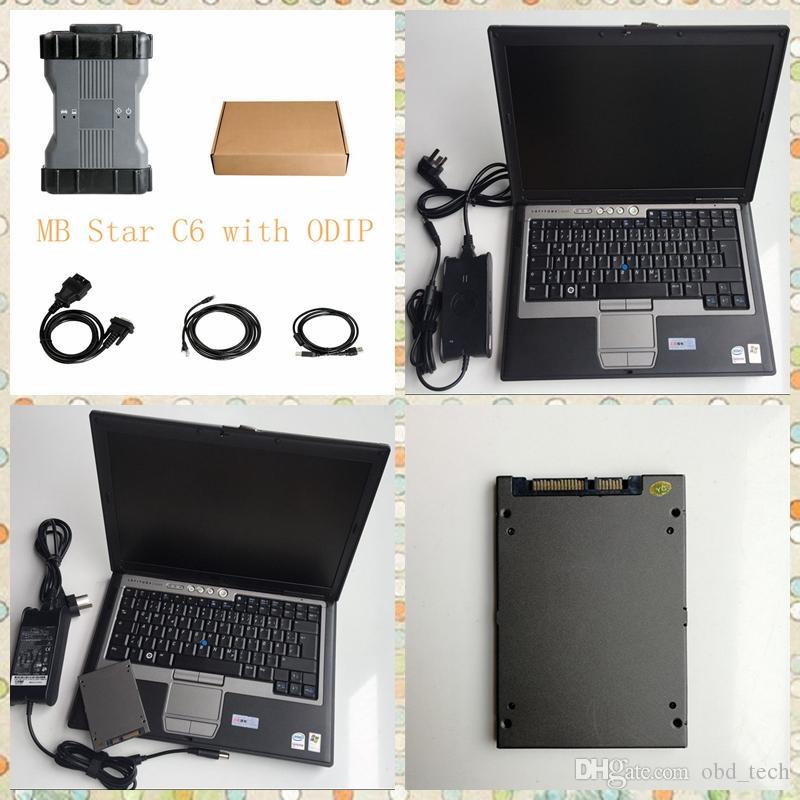 مجموعة كاملة مجموعة التشخيص MB نجمة SD C6 X-ENTRY DOIP مع D630 Laptop 360GB SSD التشخيص المتعدد أحدث سيارة Soft-Ware