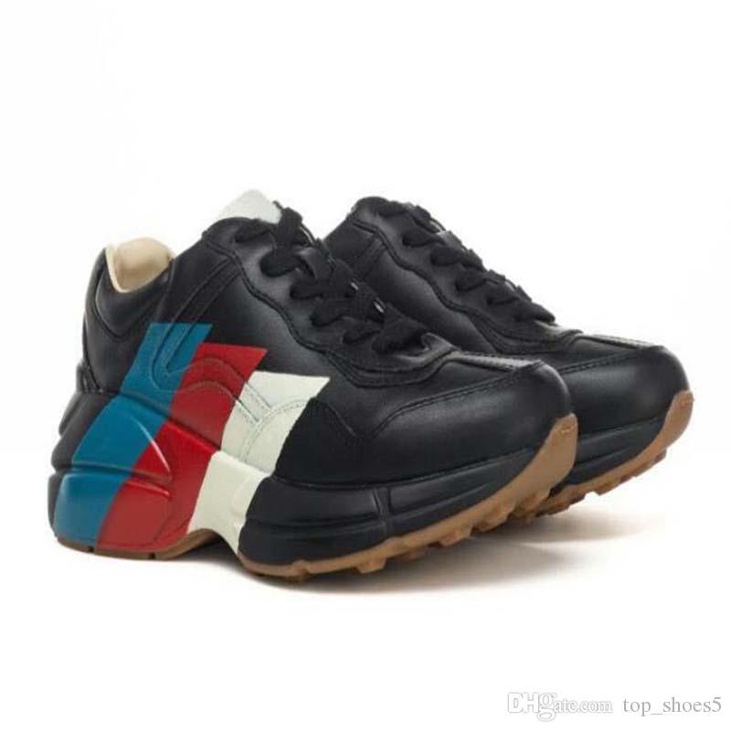 2020 Yeni renkli logo yeni ayakkabılar Trainer Casual baba Ayakkabı erkek ve kadın ayakkabıları Boots bağcıklı yarışı Runner I88