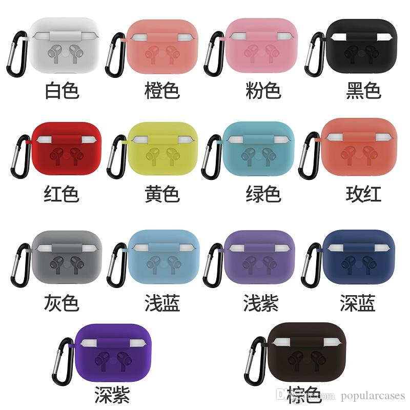 2020 New Quality For Airpods Pro Case Wireless Bluetooth Slim
