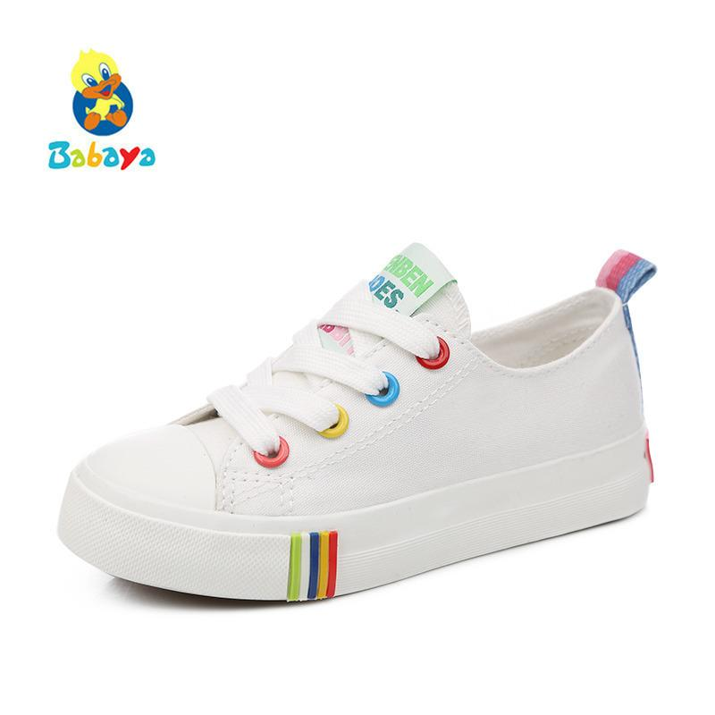 Kids Shoes For Girl Children Canvas