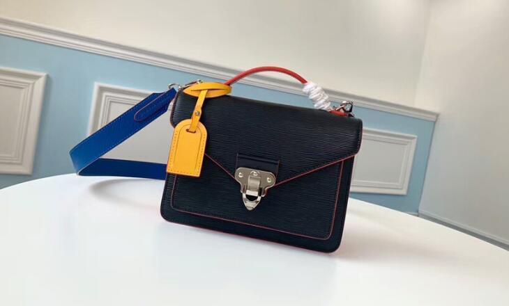 5A Top Quality M55405 22 centímetros Sac Neo Monceau Satchel saco de ombro para as mulheres com saco de poeira + Box DHL frete grátis