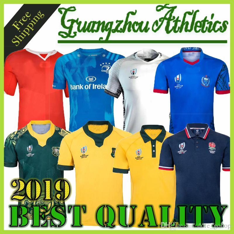 Nuevo 2019 2020 copa del mundo de rugby camiseta Australia Japón Sudáfrica jerseys 19 20 rugby camisetas de rugby liga camisas Escocia Fiji Tonga