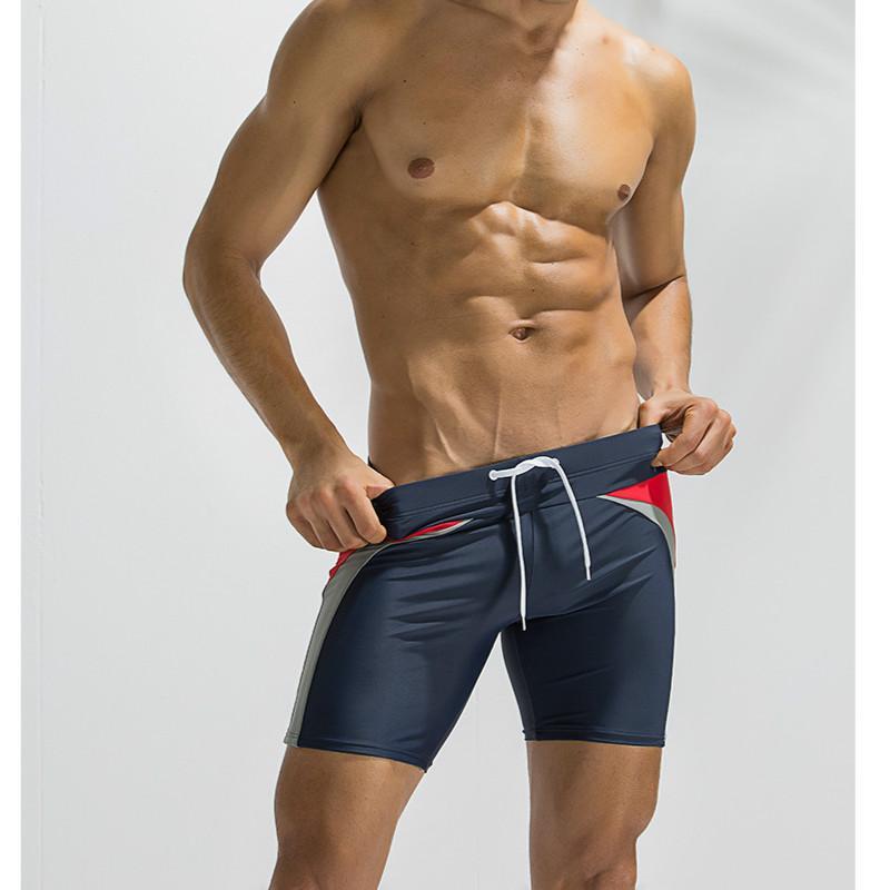 Мужские летние купальники мужские дизайнерские пятиточечные фитнес-брюки боксерские купальники Мужские водонепроницаемые мужские пляжные брюки брендовая одежда 2020 оптом