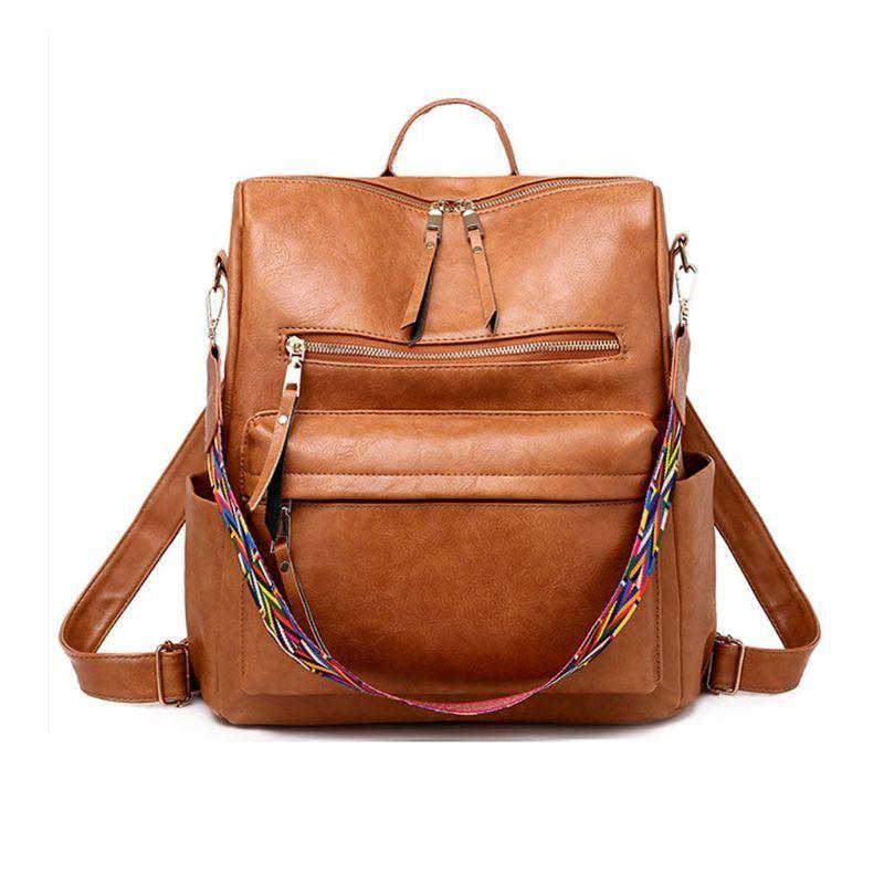 جودة عالية أزياء المرأة حقيبة الظهر محفظة ماء الكتب الظهر CROSSBODY حقيبة الكتف