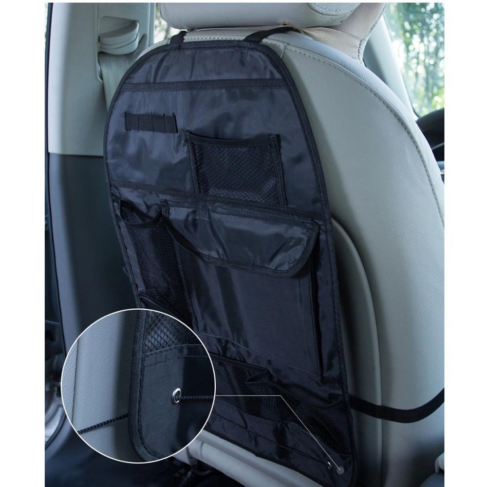 2 pcs étanche universel de voiture banquette arrière Organisateur sac de rangement multi poche Hanging poche assortis 56.5x37cm Accessoires Auto