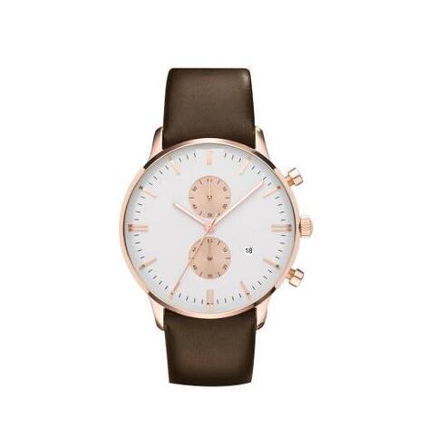 뜨거운 판매 클래식 스위스 시계 클래식 유행 남자 시계 AR0398 쿼츠 크로노 그래프 시계 무료 배송.